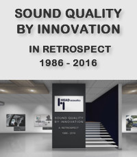 Sound Quality by Innovation - 30 years in retrospect  > Click here for more information